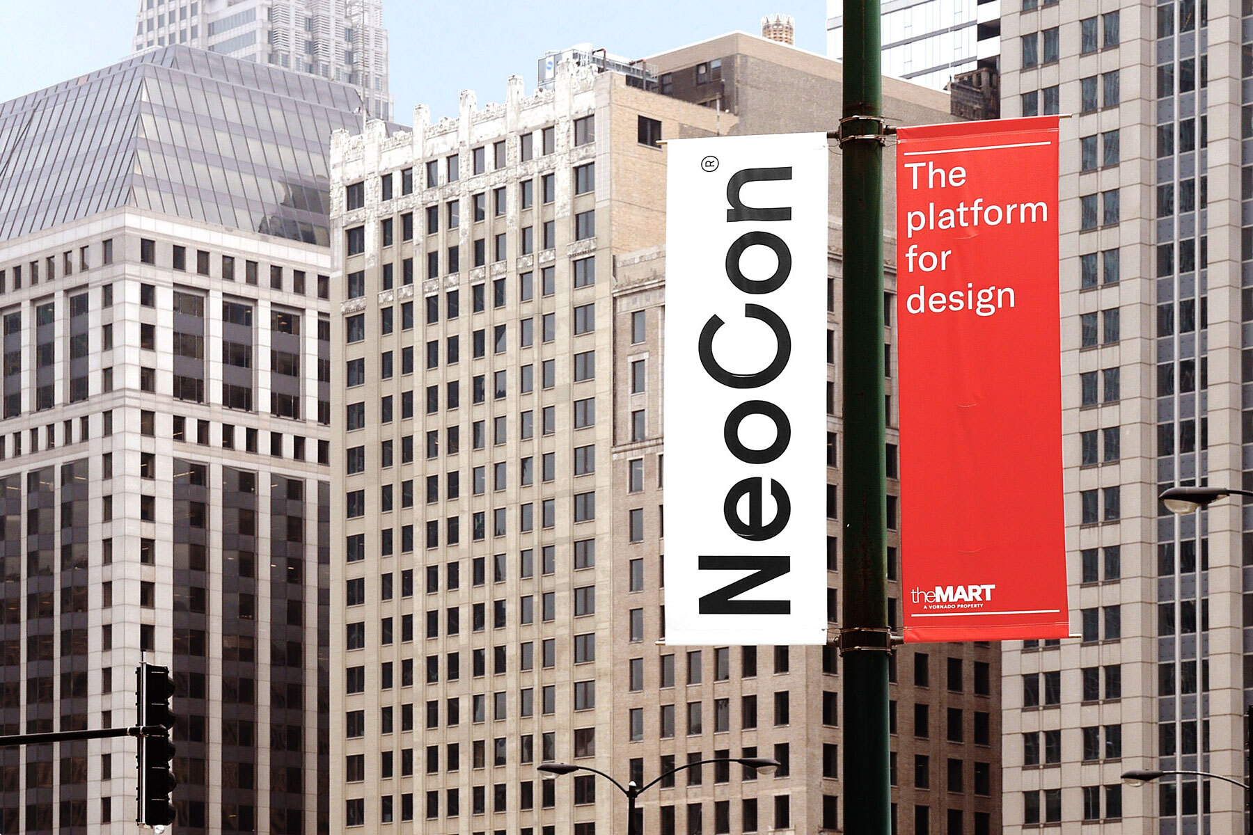 Neocon 2018 street banners 3 2